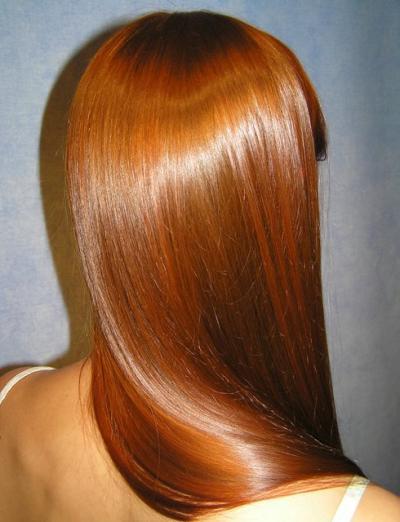 Как добиться естественного блеска волос