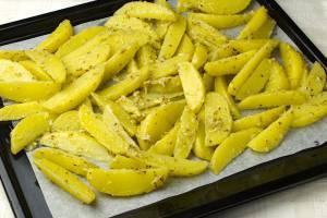 запеченный картофель с горчицей как приготовить