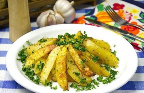 Как приготовить запеченный картофель с горчицей