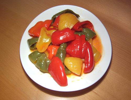 Перец сладкий консервация рецепт