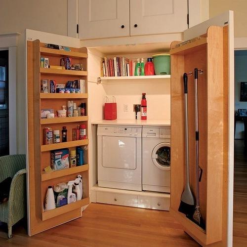 За счет чего можно сэкономить место в кухне