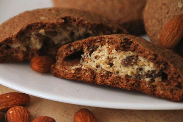 Как приготовить овсяное печенье с начинкой