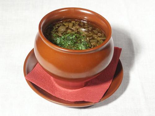 Рецепт супа в горшочках пити