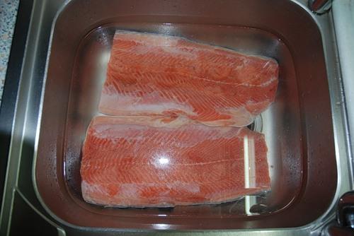 как засолить рыбу дома
