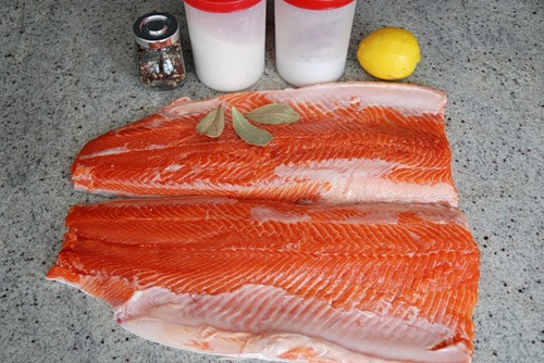 рецепт засолки красной рыбы