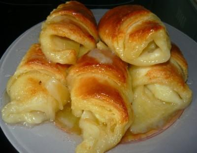 слоеные булочки рецепт