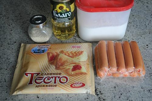 Как быстро приготовить сосиски в тесте