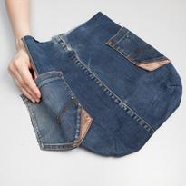 Сумочки из старых джинс своими руками
